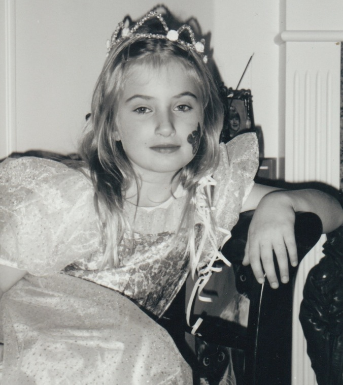 Halloween Mel as Princess