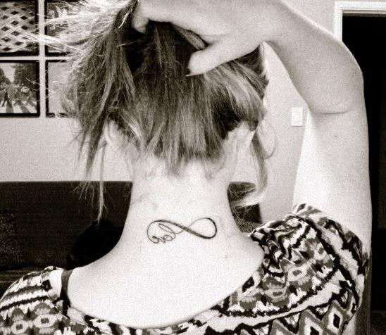 mel's love tattoo
