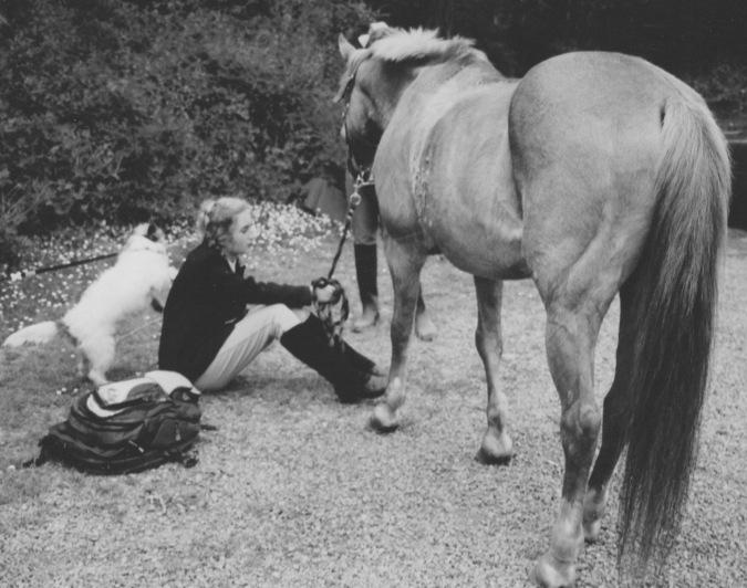 Mel on horse 4